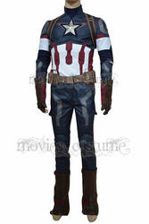 Avengers: Age of Ultro Steve Rogers Costume by moviescostume