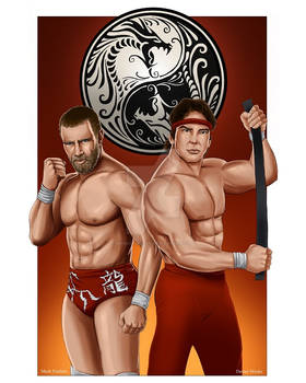 Double Dragon: Daniel Bryan and Ricky Steamboat