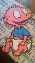 Perler Bead Tommy Pickles