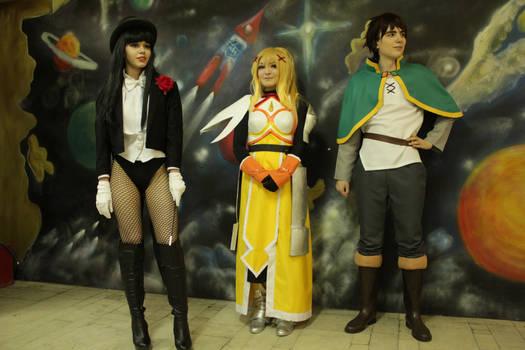 ComXFest 2017 - Zatanna, Darkness and Kazuma 2