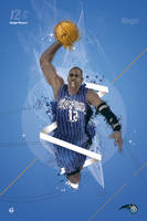 Dwight Howard Tribute poster by 2m-at-work