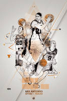 SPURS Tribute poster by 2m-at-work
