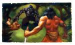Tarzan by JasonGoodwinArt