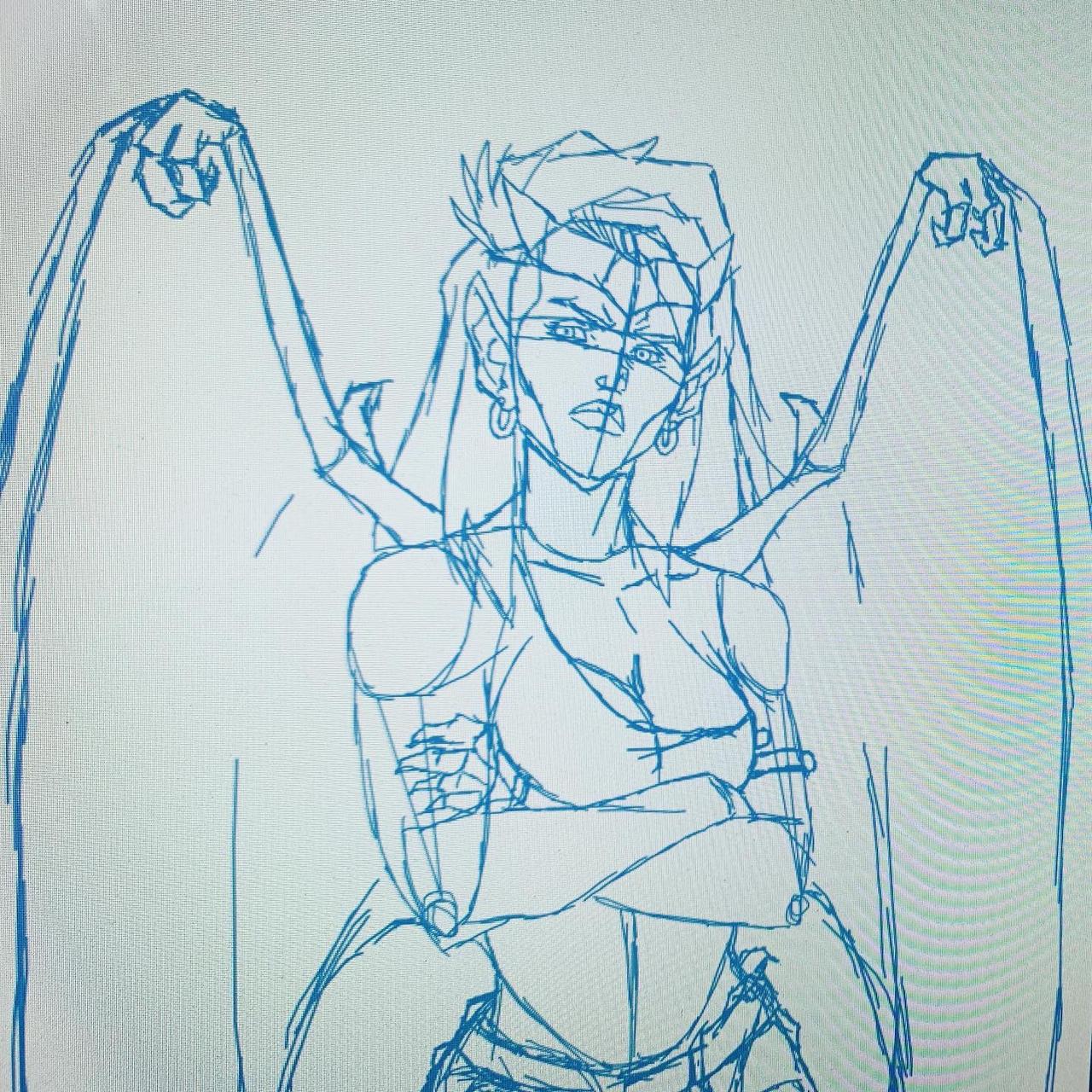 Demona (sketch) by I-IeXXus7