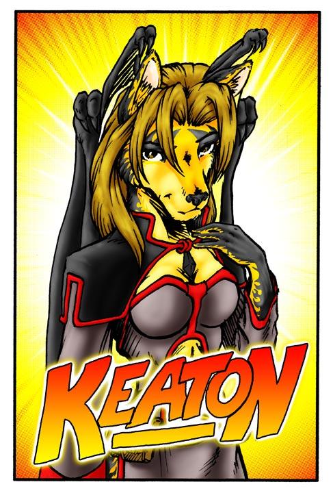 AC09 - Keaton Conbadge - Color by Pegasus316