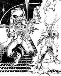 MFF17 - Shrink Rays ... IINNN SPAAAAACE!!! - Inks by Pegasus316