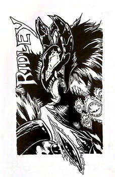 Ridley - MFF18 Conbadge for Jade - Inks
