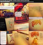 My Watercoloring Stuff by kyunyo