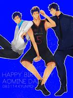 Happy birthday Aomine! by kyunyo