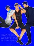 Happy birthday Aomine!