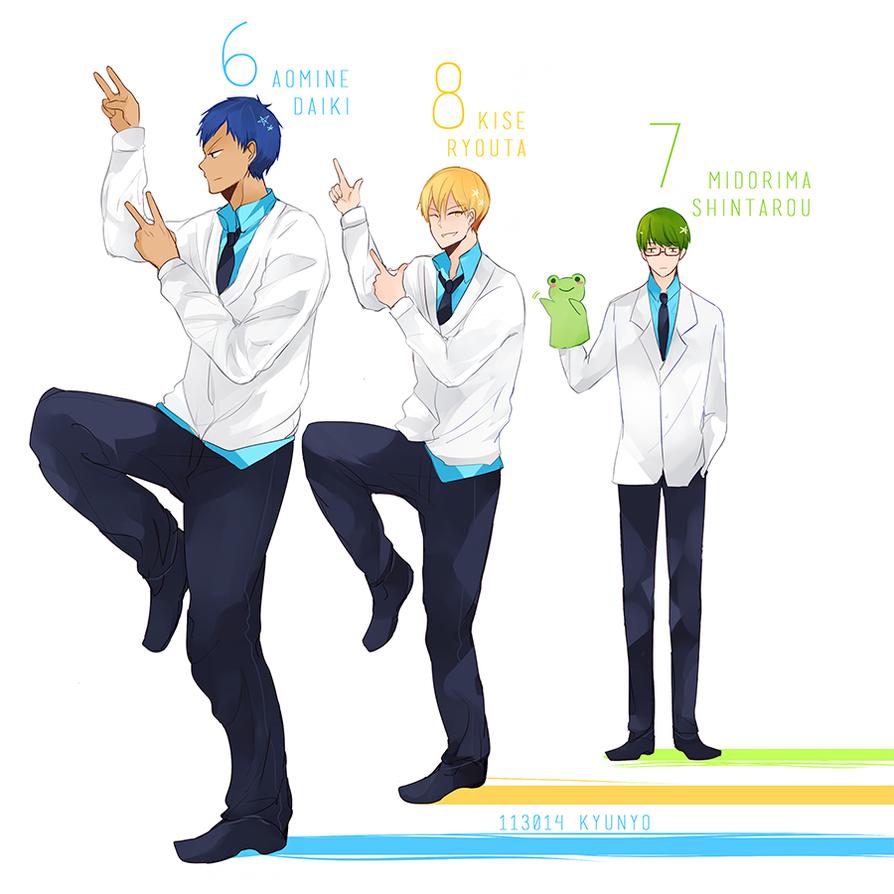 678 Trio by kyunyo