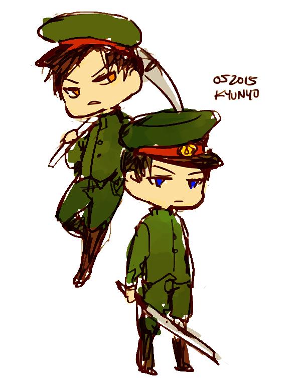 Tagami and Kirishima by kyunyo