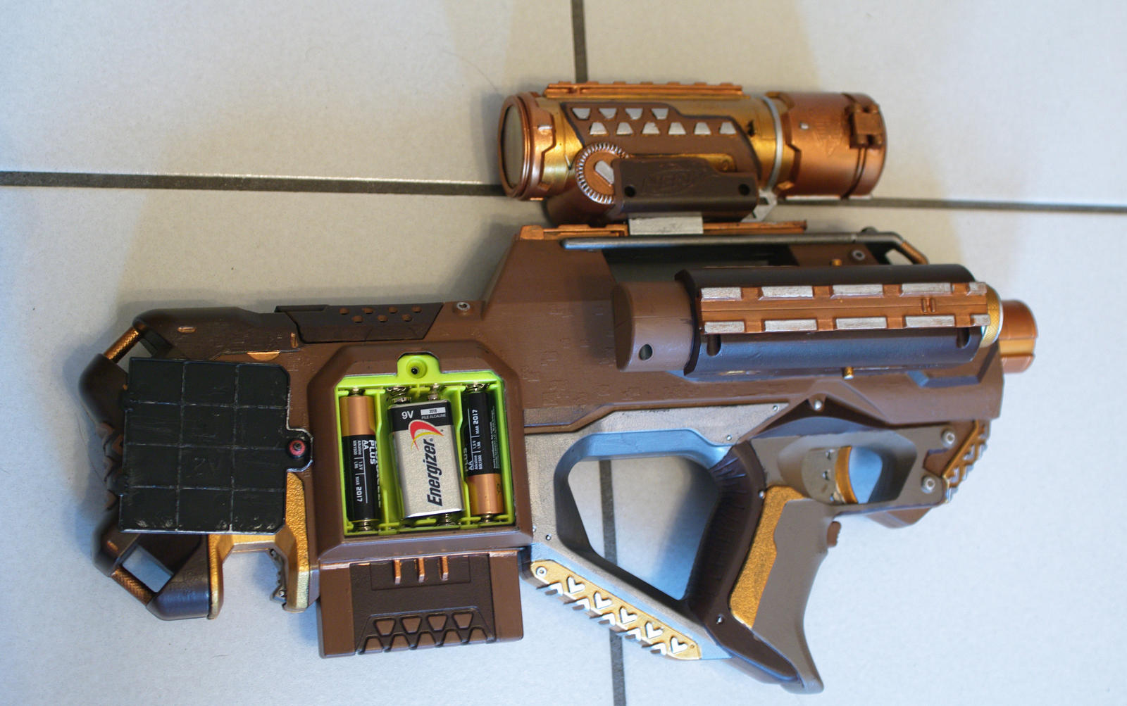NERF RAYVEN 1.2 by Hultrastronne