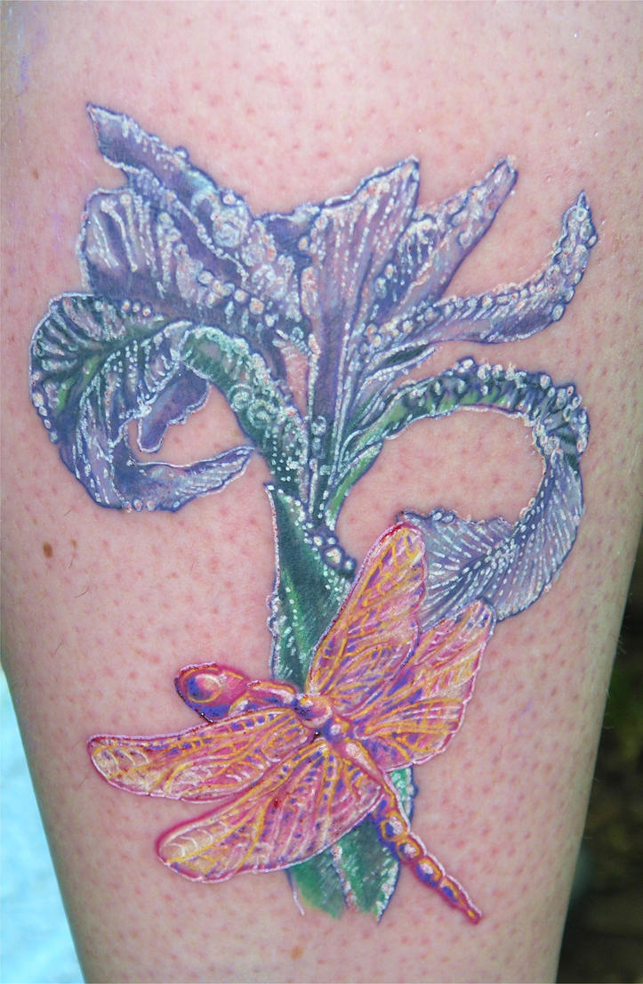 Morning Dew Tattoo by TempestG0ddess