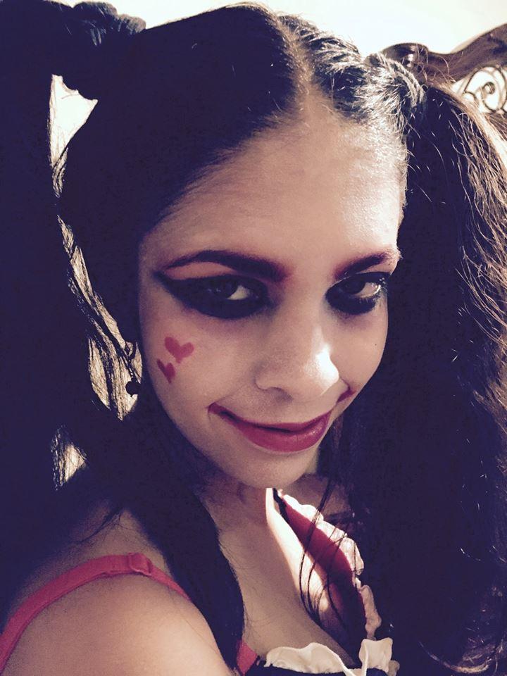 Harlequinn Halloween by Grimsisters