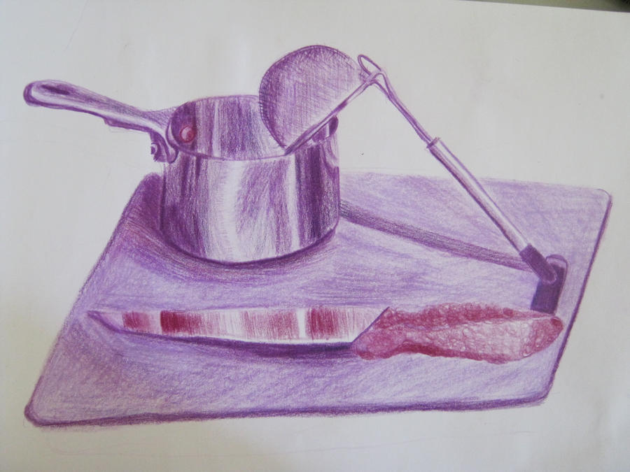 Kitchen Utensils In PURPLE By Velours Noir ...