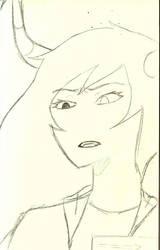 Page Three Sketch by hiarashii-kitsuneko
