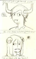 Page Seven Sketch by hiarashii-kitsuneko