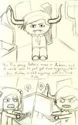 Page Eight Sketch by hiarashii-kitsuneko