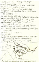 Page Nine Sketch by hiarashii-kitsuneko