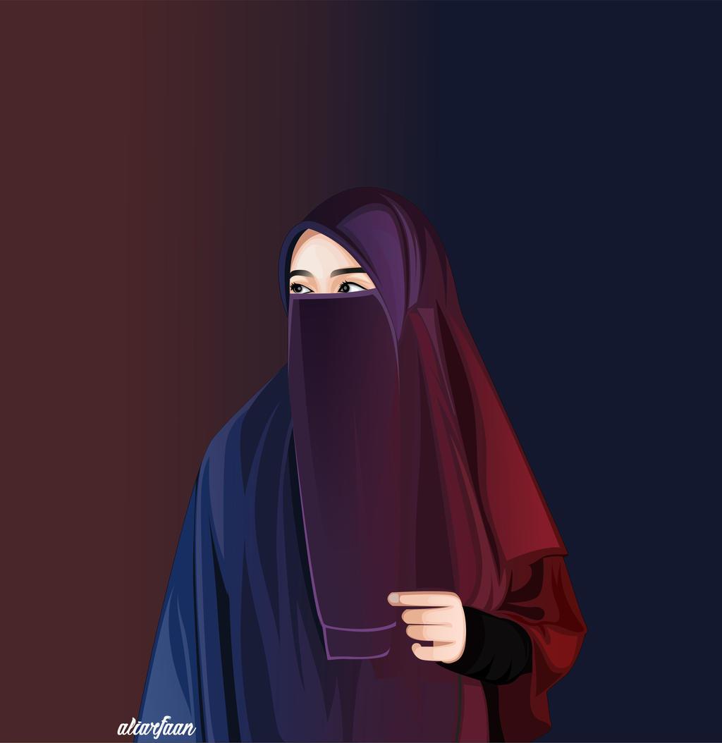 hijab by aliarfaan on DeviantArt