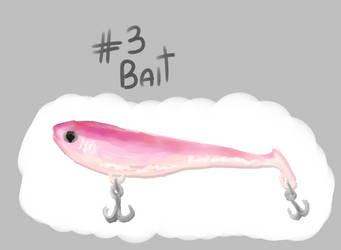 Inktober 2019 day 3: bait