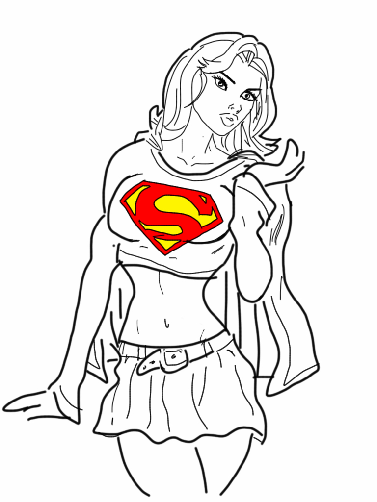 Super girl by bigomega