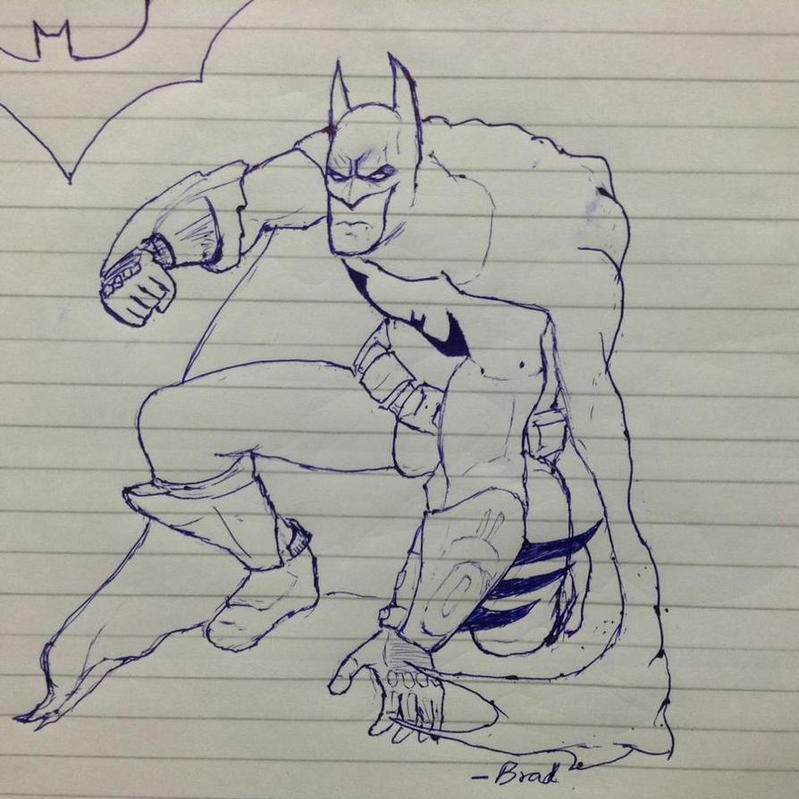 Batman never goes down by bigomega
