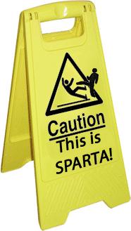Caution, This Is SPARTA by Nazfellun