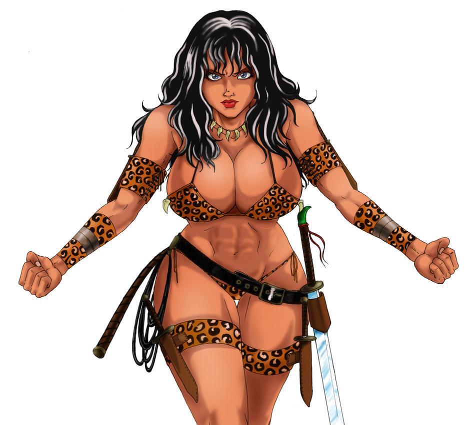 Barocca The black Amazon by Nasbak-Cryman
