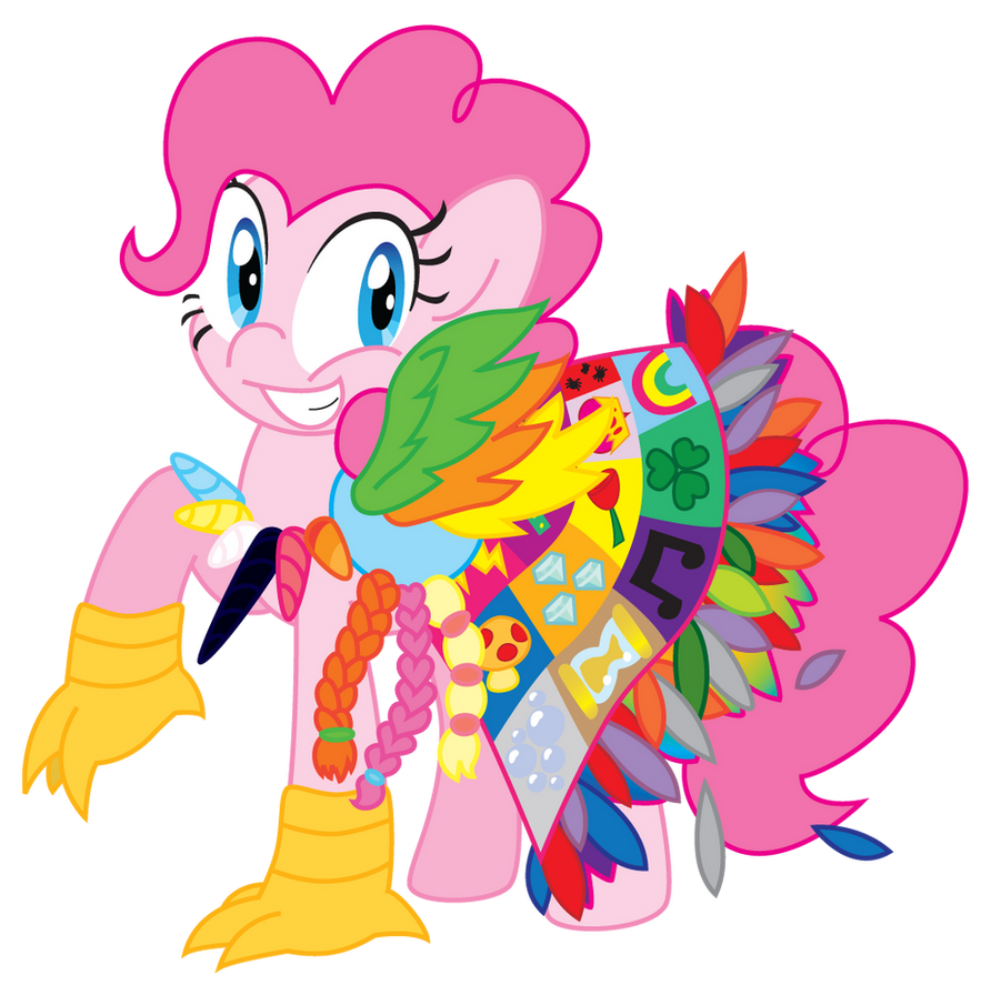 PinkiePie by BlushingDancer