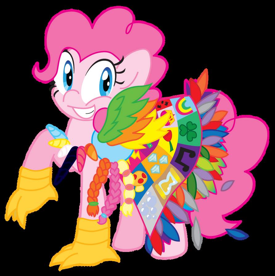 PinkiePie by BlushingDancer