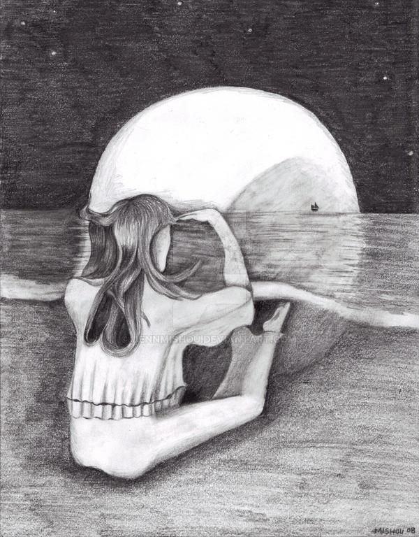 1280x1024 skull optical illusion - photo #20