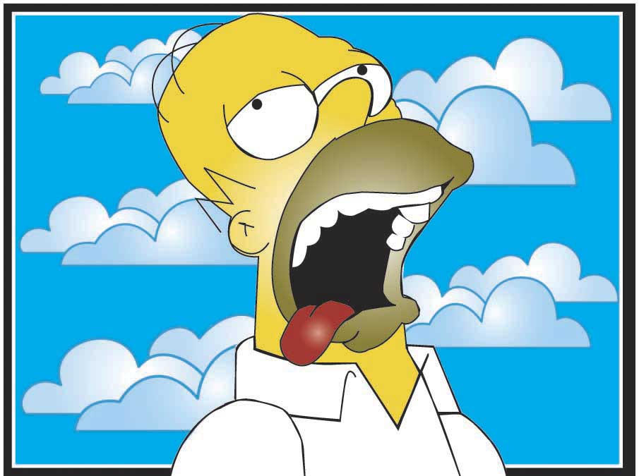 Homer J Simpson by BishoujoAda by Simpsons-Fans