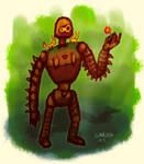 Laputa Robot guard