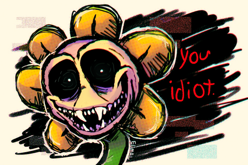 Undertale Flowey The Flower By Hummeri9 On Deviantart
