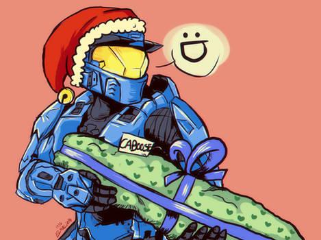 Caboose rvb  Christmas