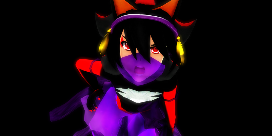 MMD Demon Girl(Boy)Friend Gini by McChipy