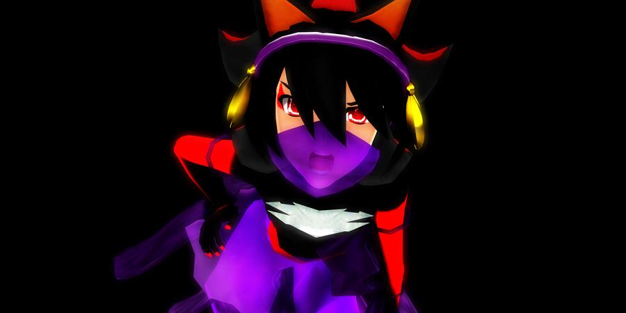 MMD Demon Girl(Boy)Friend Gini by McChipy