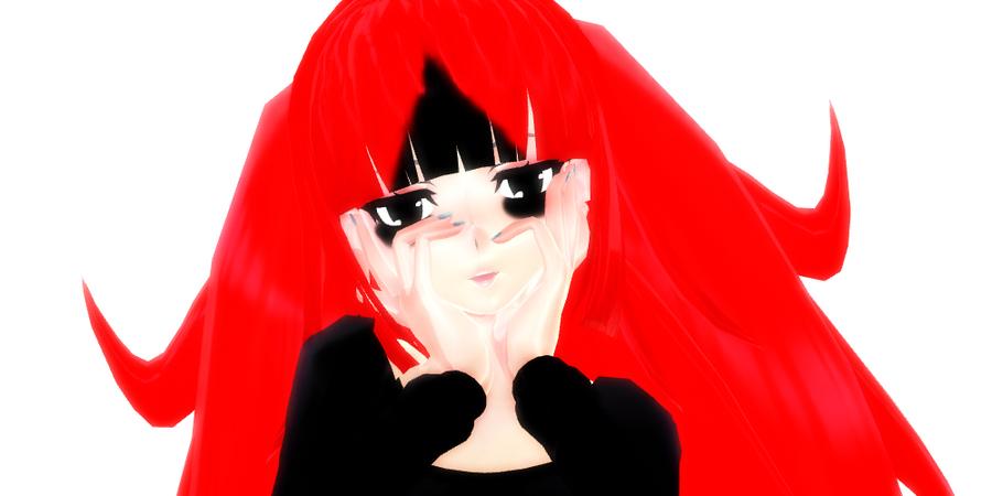 [MMD] ..::aOoNi::.. (Mirai Nikki meme) by McChipy
