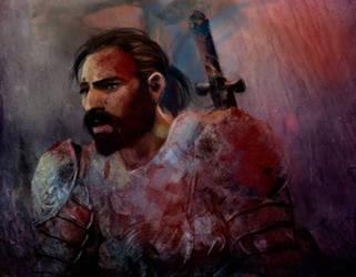 Dragon Age: The battle at Ostagar by olivegbg