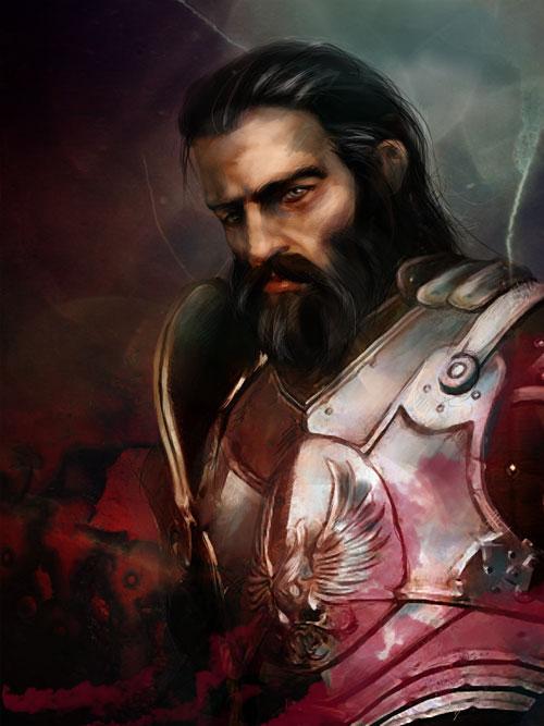 Dragon Age: Blackwall by olivegbg