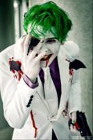 The Joker - The Dark Knight Returns cosplay by smile-xvillainco
