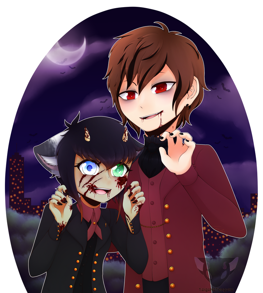 Let's party in the graveyard ! by TaigaNoTengoku