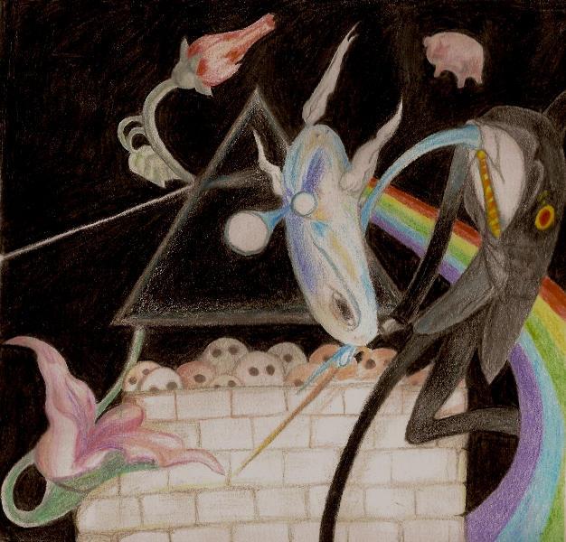 PinK Floyd tribute.. by orneshorror
