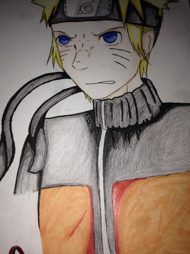Naruto Uzumaki by blazethecat230