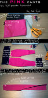 the pink pants-TUTORIAL