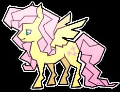 Fluttershy Sticker by CaptiveLegacy