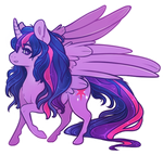 Princess Twilight Sparkle by CaptiveLegacy