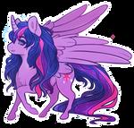 Princess Twilight Sparkle by CaptiveLegacy
